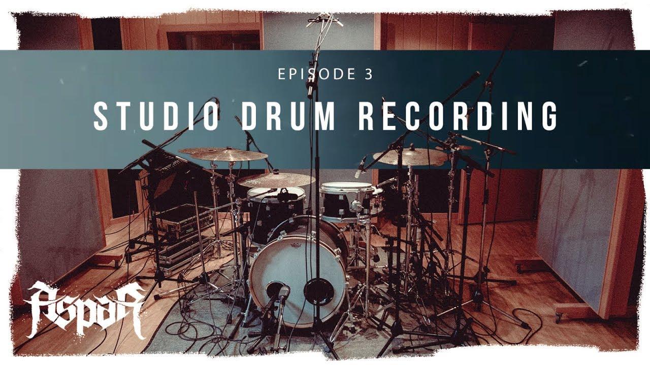 Studio Drum Recording | Episode 3